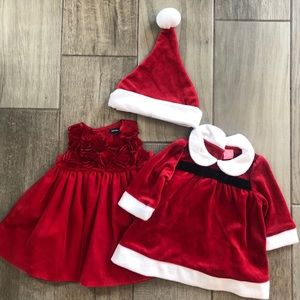 Matching Sets - 3-6 months Christmas Outfits
